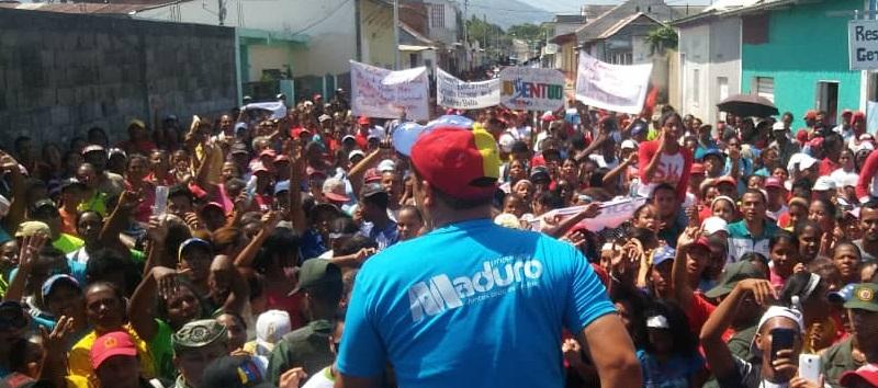 Gran ola bolivariana cerró campaña en los municipios Mariño, Libertador, Cajigal y Valdez