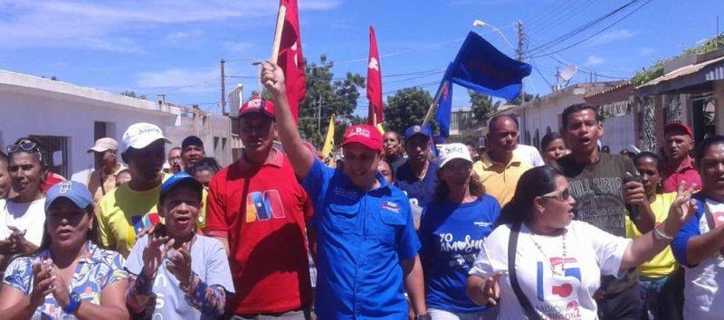 Pueblo y Gobierno de Sucre participaron masivamente en simulacro electoral.
