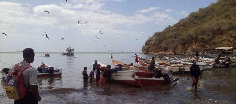 Gobernador Edwin Rojas apoya atención médica para pescadores sucrenses.