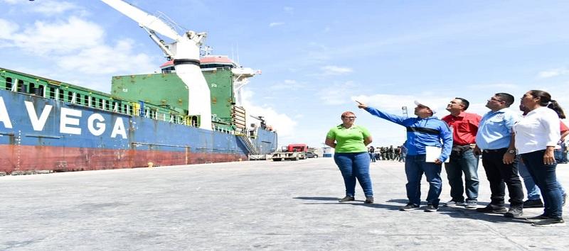 Al estado Sucre arribaron más de 600 toneladas de alimentos