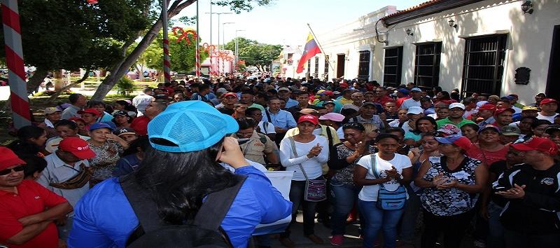 Cumaneses repudiaron Golpe de Estado contra el Presidente Evo Morales