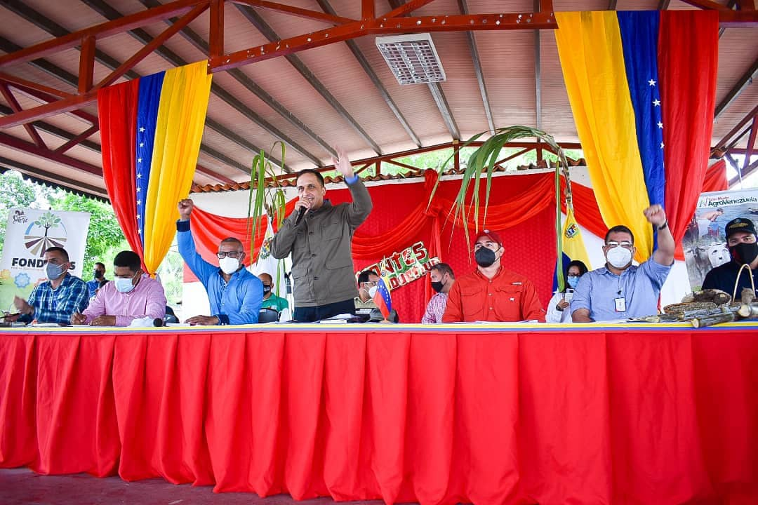 En Sucre fue instalado el Estado Mayor Agrícola desde Cumanacoa