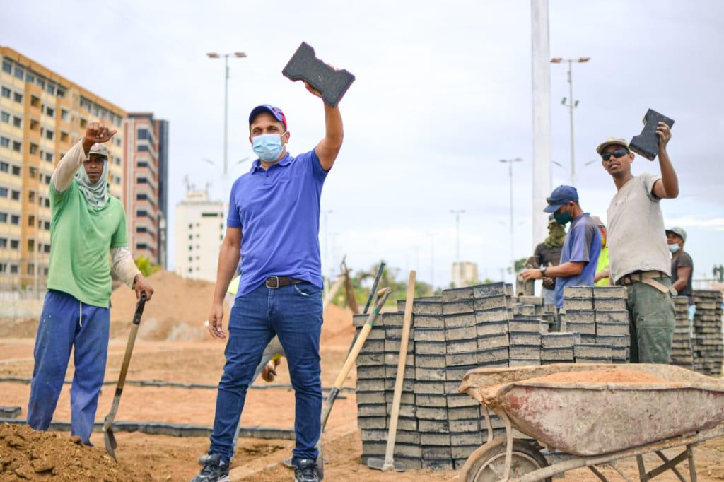 Monumento Carabobo 200 en Cumaná registra un 90% de avance físico (+FOTOS)
